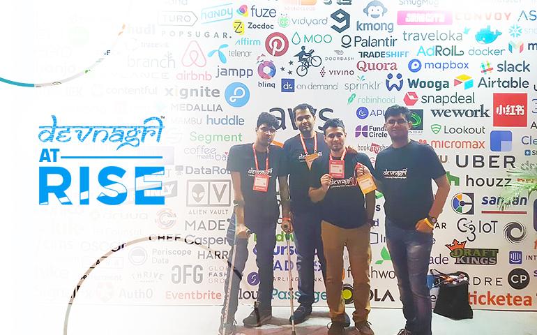 Devnagri at rise conference