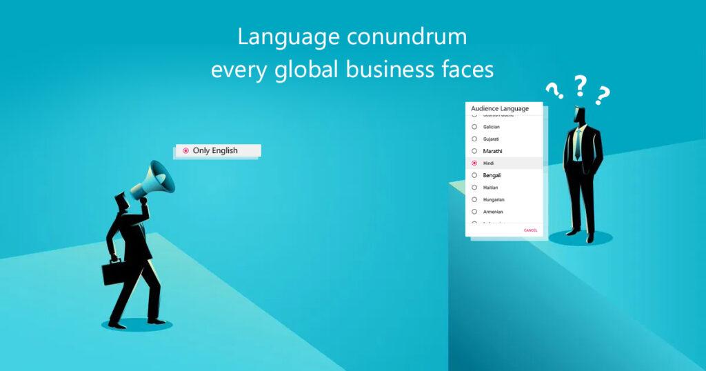 Language conundrum