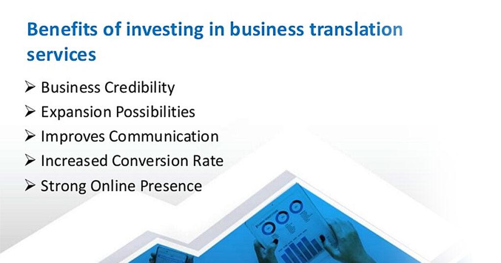 Benefits of Translation