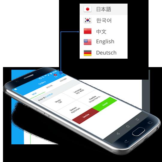 mobile app localize