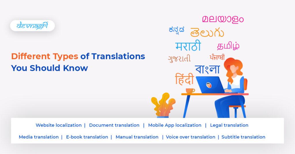 type of translation